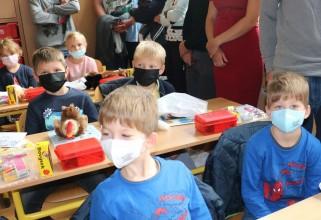 První školní den prvňáčků na Stezce